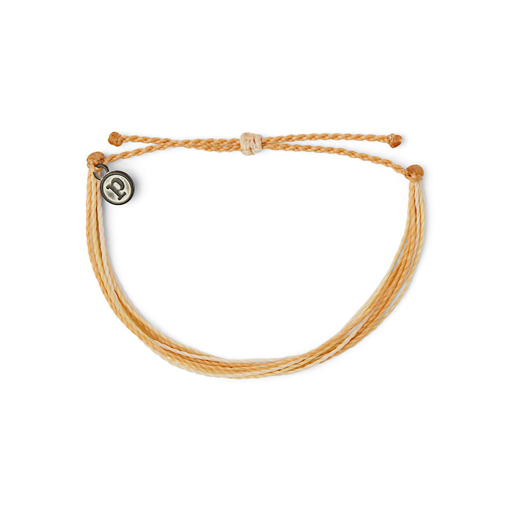 Pura Vida Original Bracelet - Classic Sepia Solid