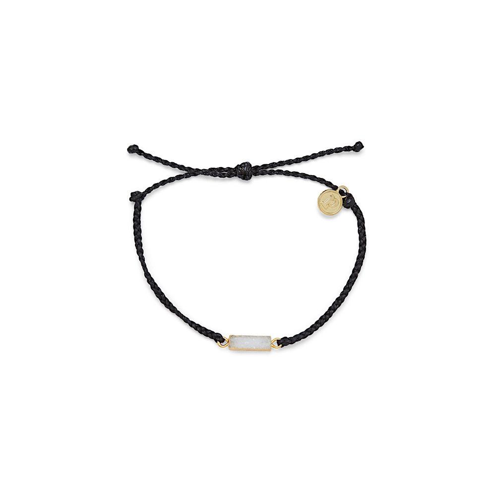 Pura Vida Druzy Bracelet - Gold/Black