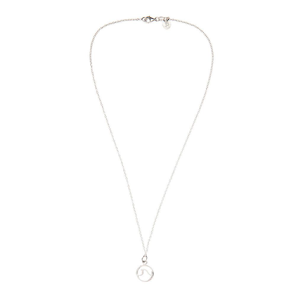 Pura Vida Pura Vida Wave Necklace - Silver