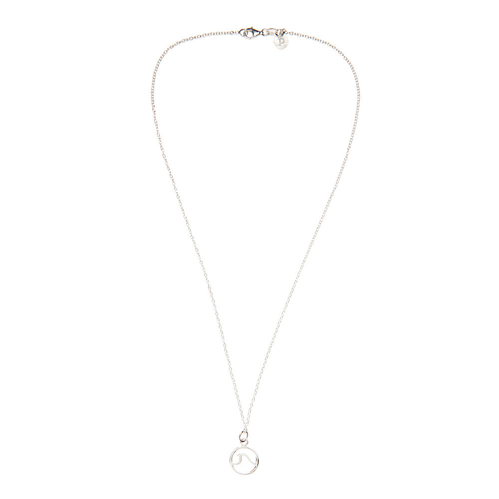 Pura Vida Wave Necklace - Silver