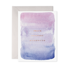 E Frances Paper E Frances Peace, Comfort, Strength Card