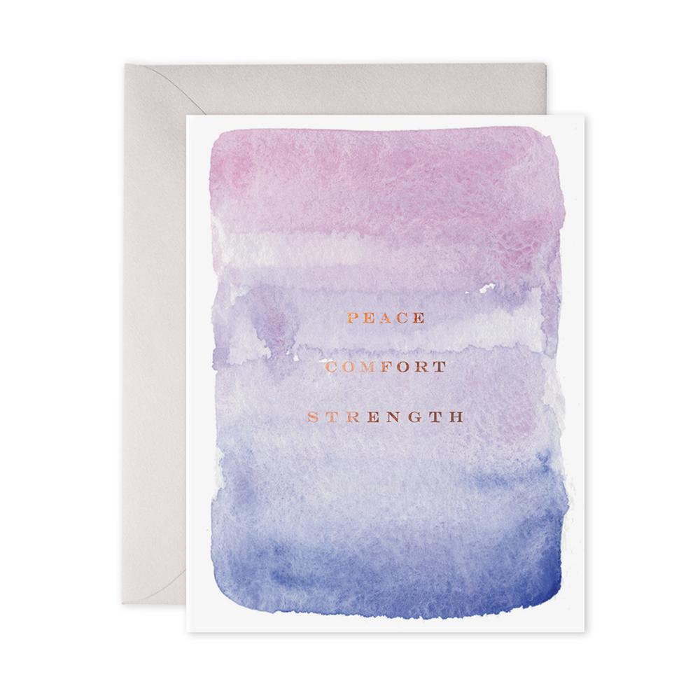 E Frances Peace, Comfort, Strength Card
