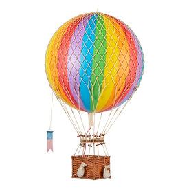 Authentic Models Hot Air Balloon - Decorative Balloon 32cm - Rainbow