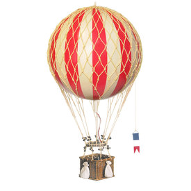 Authentic Models Hot Air Balloon - Decorative Balloon 32cm - True Red