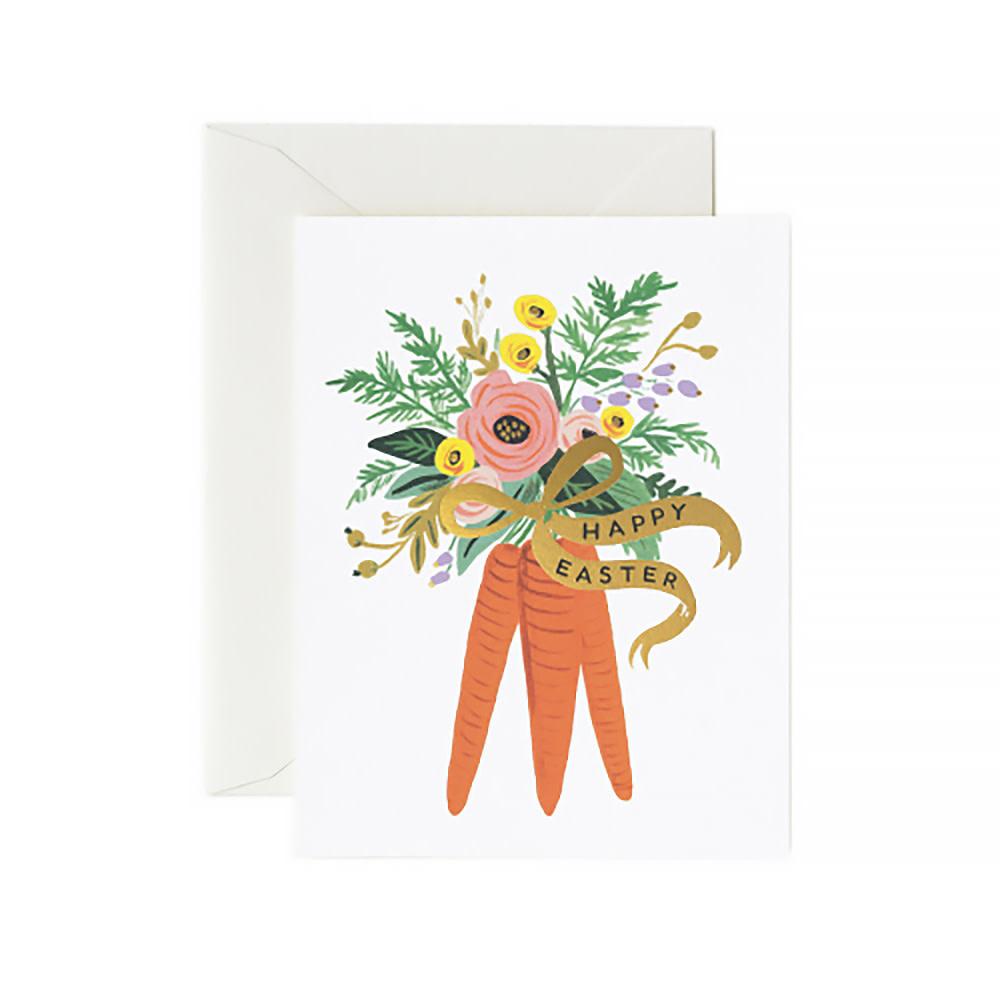 Rifle Paper Co. Card - Carrot Bouquet