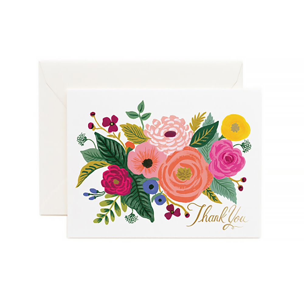 Rifle Paper Co. Rifle Paper Co. Card - Juliet Rose Thank You