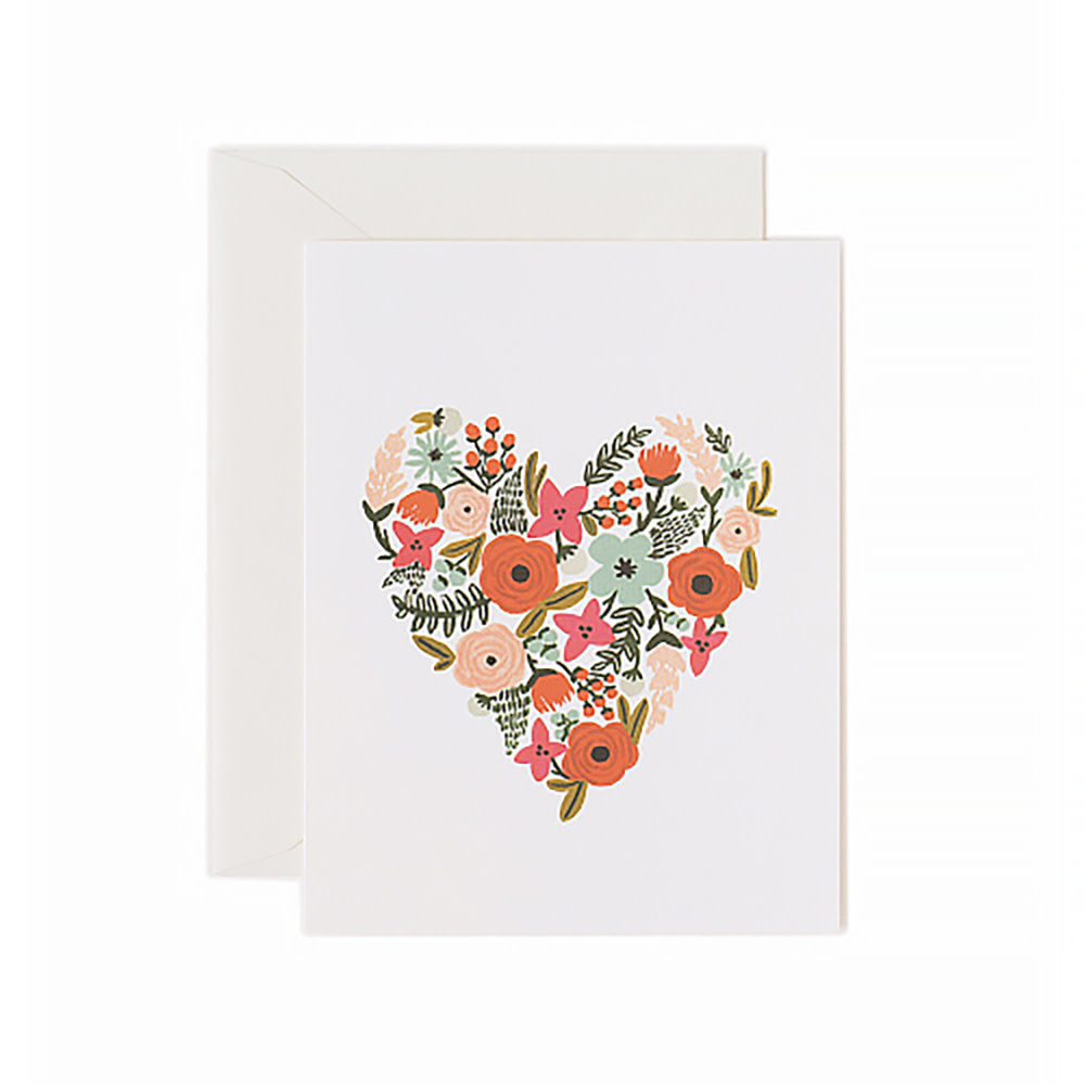 Rifle Paper Co. Rifle Paper Co. Card - Floral Heart