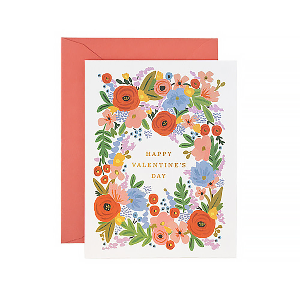 Rifle Paper Co. Card - Valentine's Day Bouquet