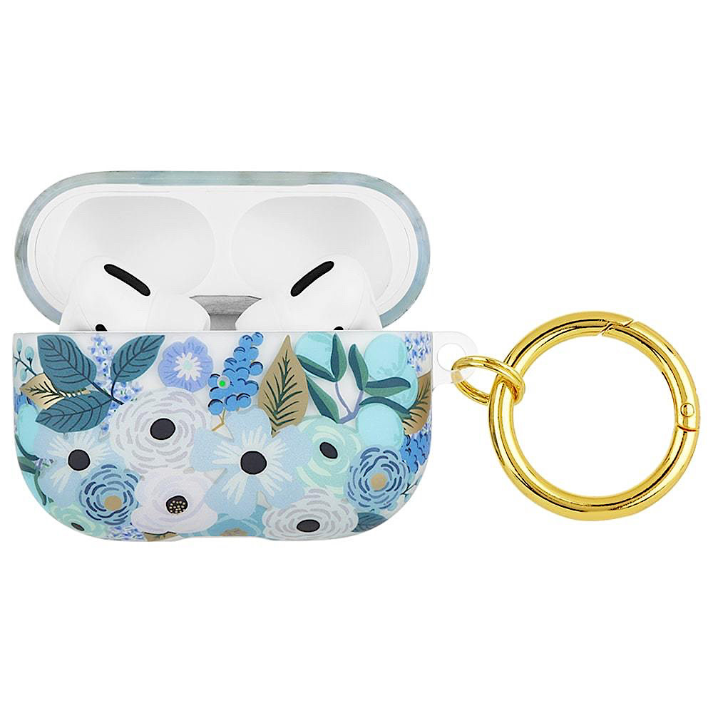 Rifle Paper Co. AirPod Pro Case - Clear Garden Party Blue