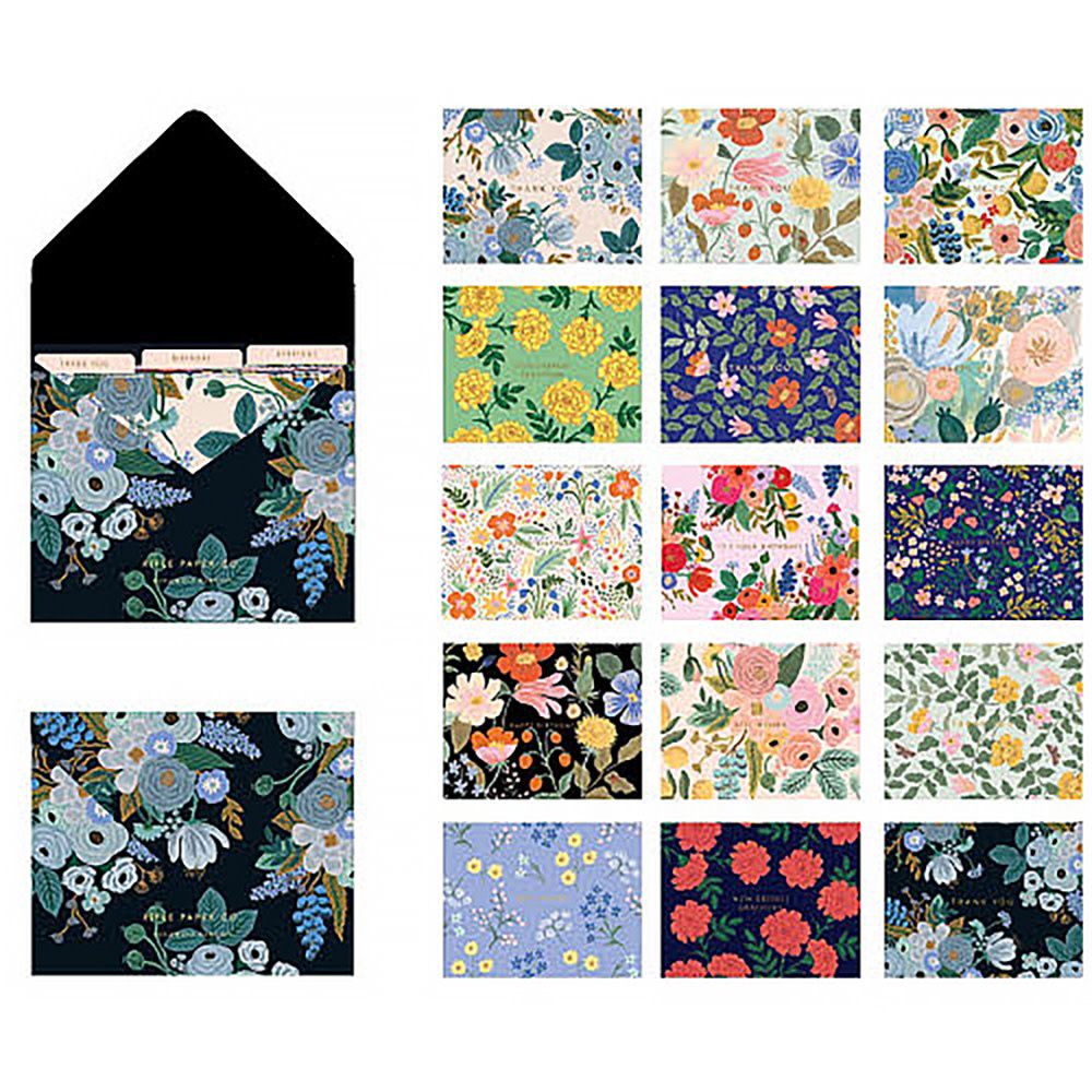 Rifle Paper Co. Mixed Floral Essential Card Box