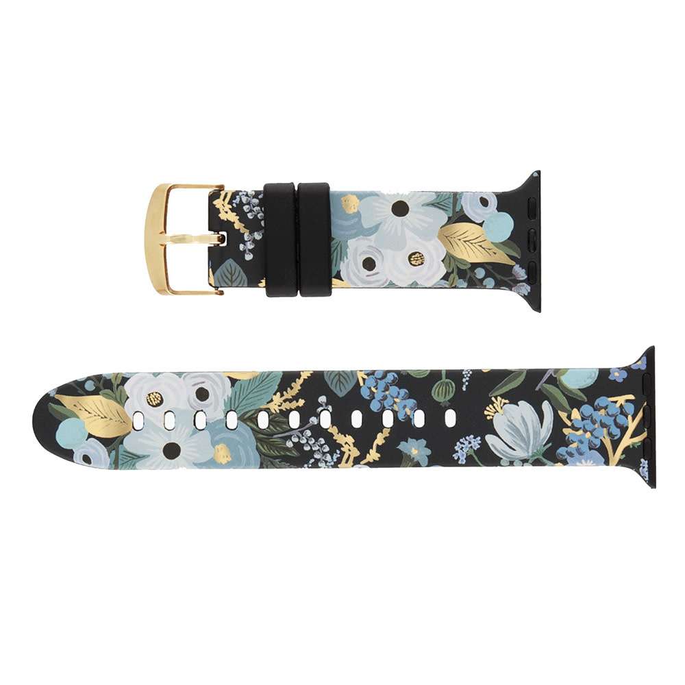 Rifle Paper Co. Rifle Paper Co. Apple Watch Band 38-40mm - Blue Garden Party