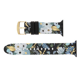 Rifle Paper Co. Rifle Paper Co. Apple Watch Band 42-44mm - Blue Garden Party