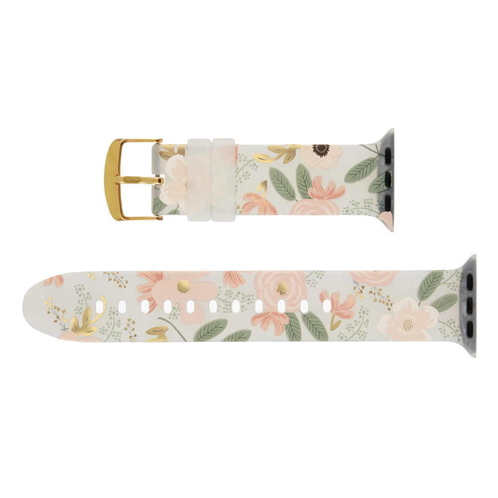 Rifle Paper Co. Rifle Paper Co. Apple Watch Band 42-44mm - Wild Flowers