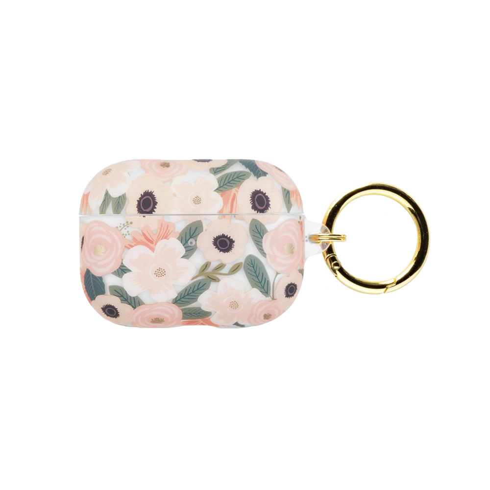 Rifle Paper Co. Rifle Paper Co. AirPod Pro Case - Clear Wildflowers