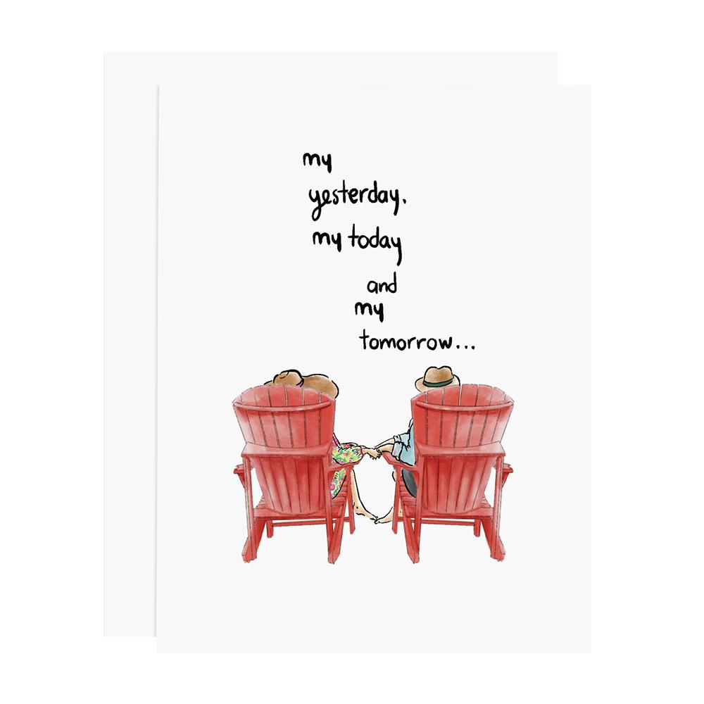 Ramus & Co Card - My Yesterday, My Today, My Tomorrow