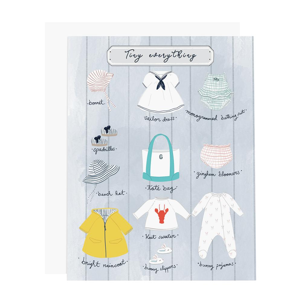 Ramus & Co Card - Tiny Everything Girl