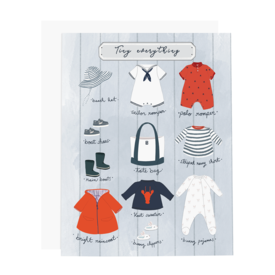 Ramus & Co Ramus & Co Card - Tiny Everything Boy