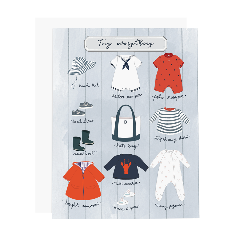 Ramus & Co Card - Tiny Everything Boy