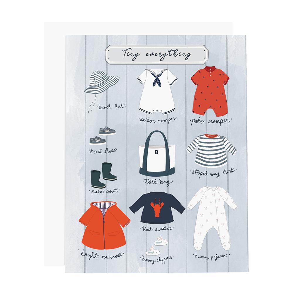 Ramus & Co Ramus & Co Card - Tiny Everything Boy