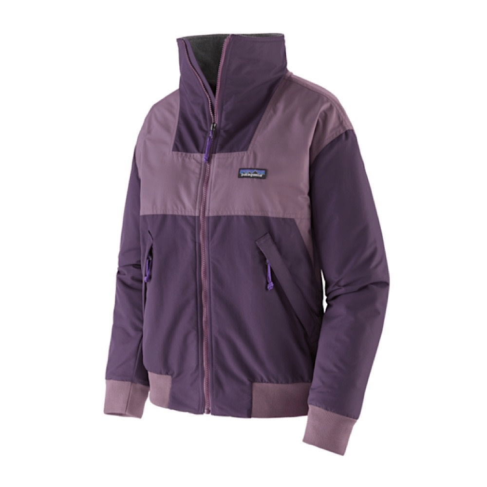 Patagonia Womens Shelled Synch Jacket - Piton Purple
