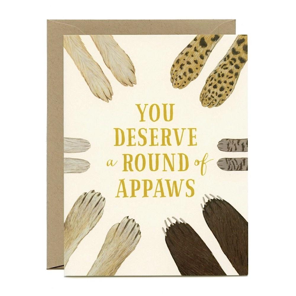 Yeppie Paper Card - Round of Appaws