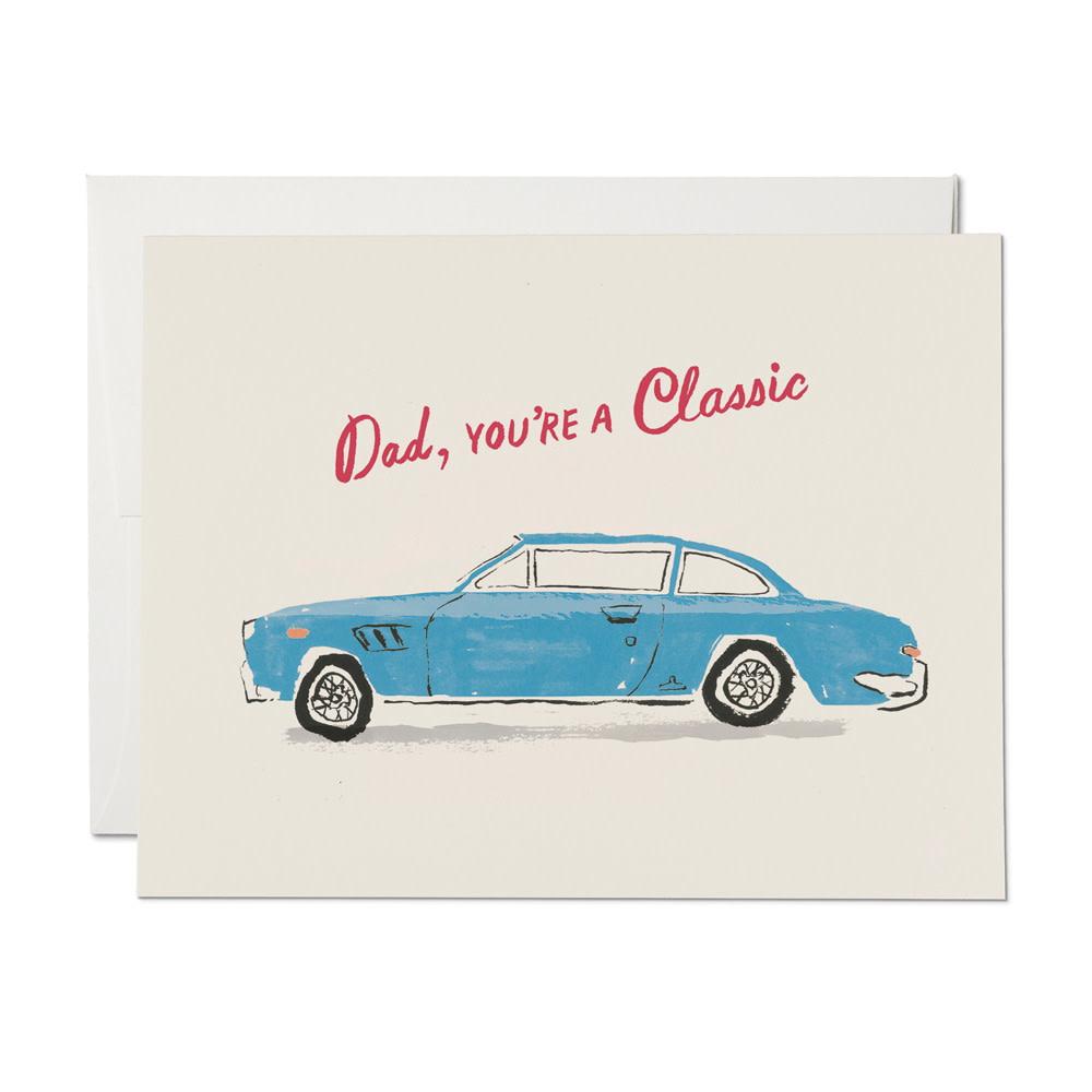 Red Cap Cards - Classic Dad