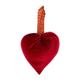 Your Heart's Content Your Heart's Content Handmade Velvet Hearts - Red