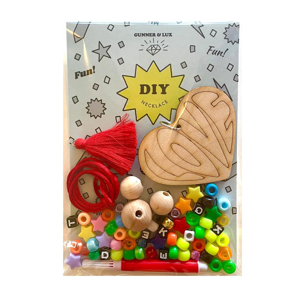 Gunner & Lux Gunner & Lux Valentines DIY Love Necklace Kit