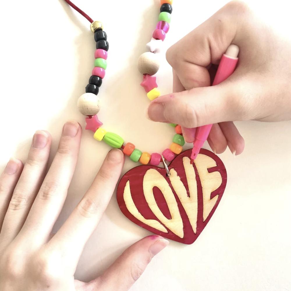 Gunner & Lux Valentines DIY Love Necklace Kit