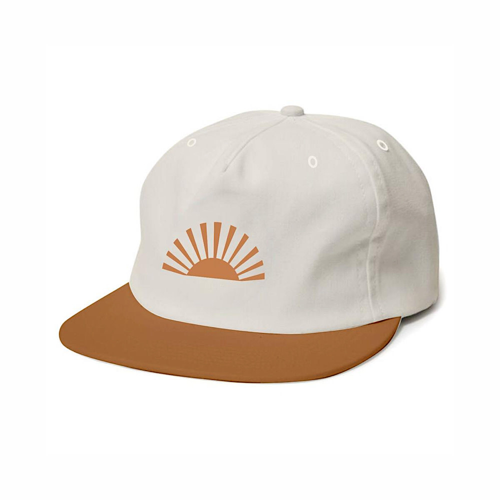 Tiny Whales Sol Hat - Natural/Rust