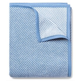 Chappywrap Chappywrap Blanket - Harborview Herringbone Light Blue