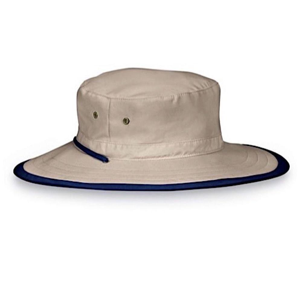 Wallaroo Hat Company Explorer Hat - Camel/Navy