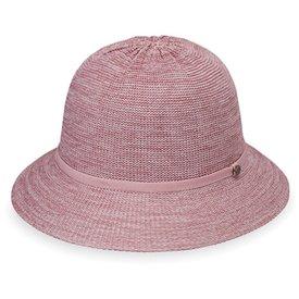Wallaroo Hat Company Tori Hat - Mixed Rose