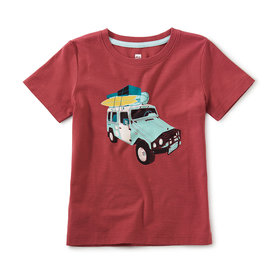 Tea Collection Tea Collection - Sand Cruiser Graphic Tee - Earth Red