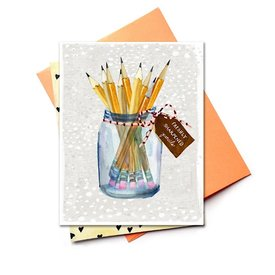 Hoopla Love Hoopla Love Bouquet of Sharpened Pencils Card