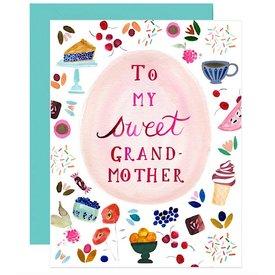 Hoopla Love Hoopla Love To My Sweet Grandmother Card