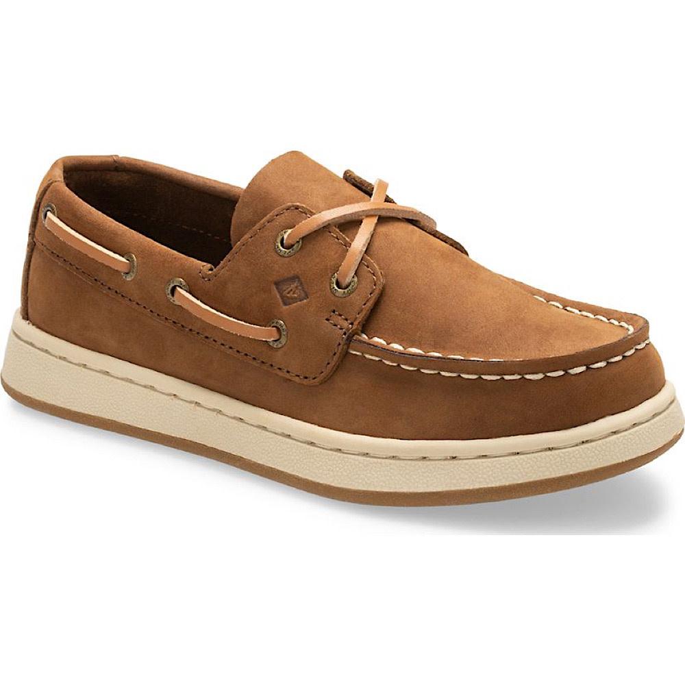 Sperry Big Kid Cup II Boat Shoe - Brown