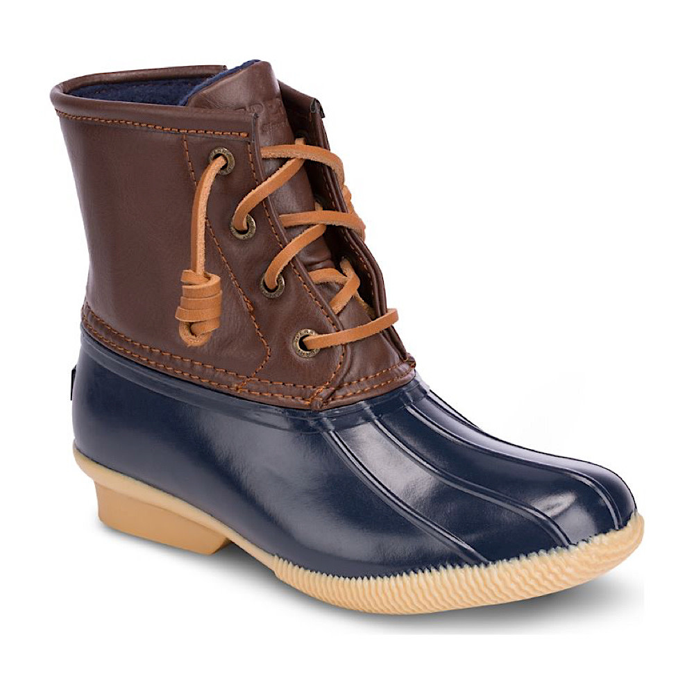 Sperry Big Kids SP Saltwater Boot - Navy