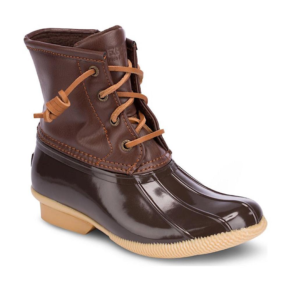 Sperry Big Kids SP Saltwater Boot - Brown
