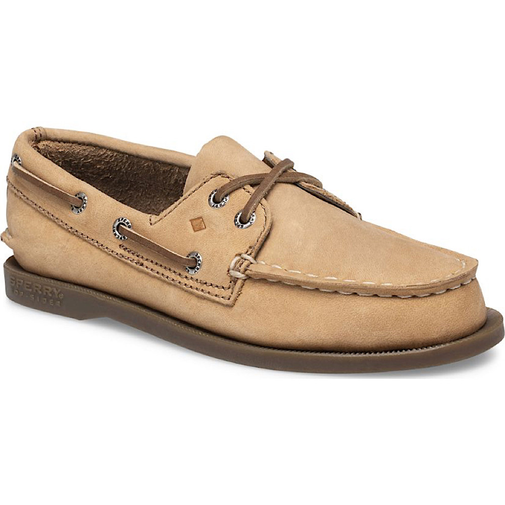 Sperry Big Kids Authentic Original Boat Shoe - Sahara Leather