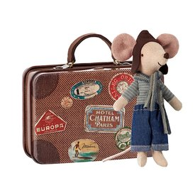 Maileg Maileg Mouse - Travel Racer Mouse in Suitcase