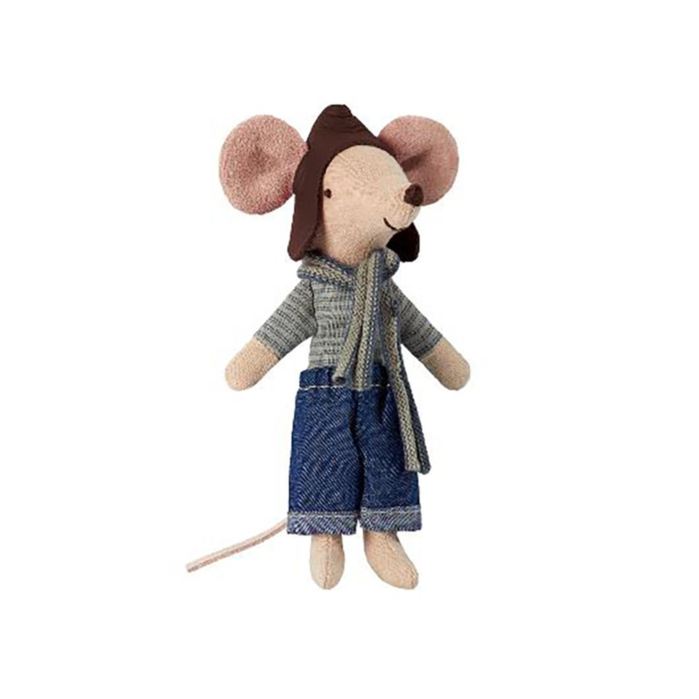 Maileg Mouse - Big Brother - Racer