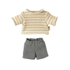 Maileg Maileg Teddy Junior Blouse and Shorts