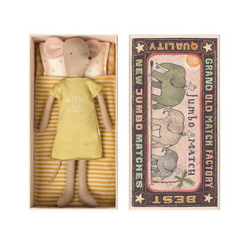 Maileg Maileg Medium Mouse in a Box - Girl