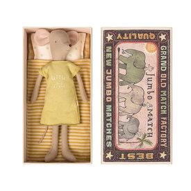 Maileg Maileg Medium Mouse in a Box - Girl