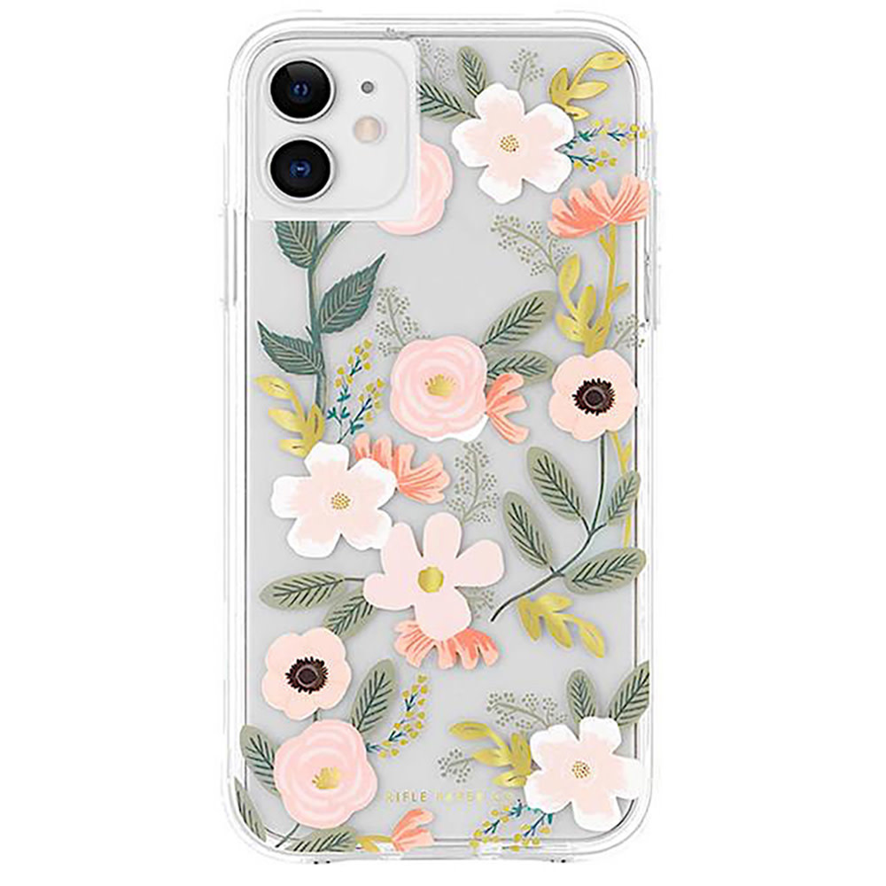 Rifle Paper Co. Rifle Paper Co. iPhone XS/X Case - Clear Wildflowers