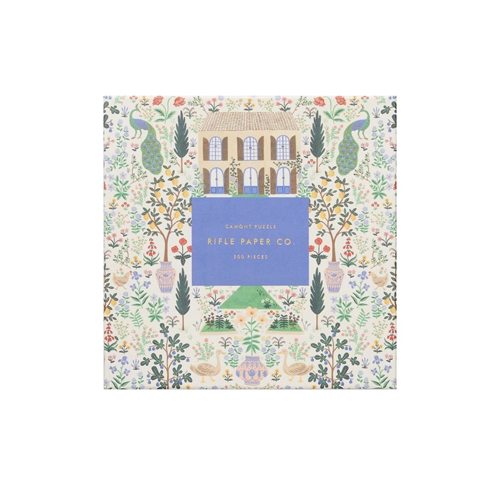Rifle Paper Co. Rifle Paper Co. Jigsaw Puzzle - 500 Pieces - Camont