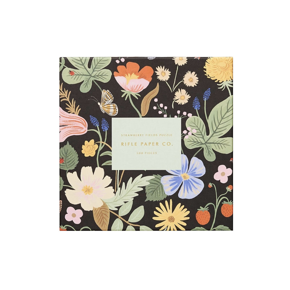Rifle Paper Co. Rifle Paper Co. Jigsaw Puzzle - 500 Pieces - Strawberry Fields