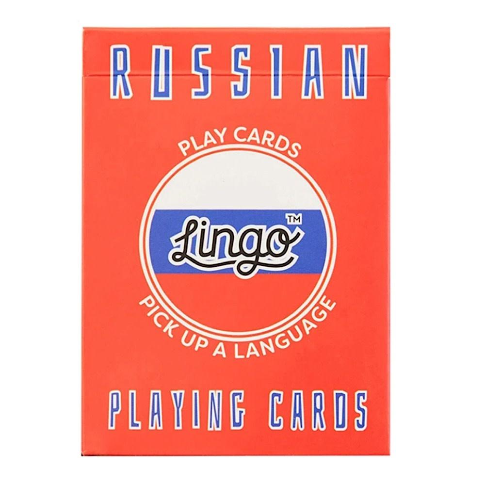 Lingo Language Cards - Russian