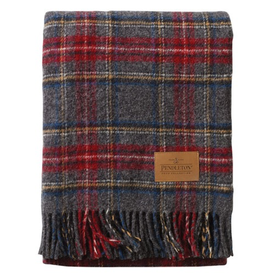 Pendleton Pendleton Carry Along Blanket - Charcoal Stewart